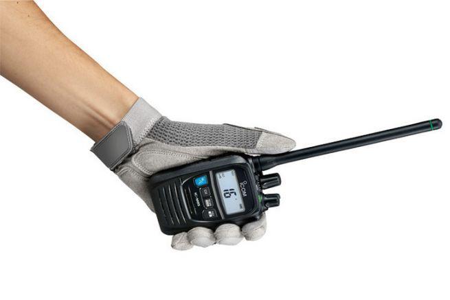 Vraiment petite la VHF portable Icom IC-M85E