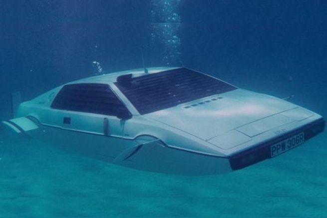 La Lotus Esprit S1 dans le James Bond L'Espion qui m'aimait
