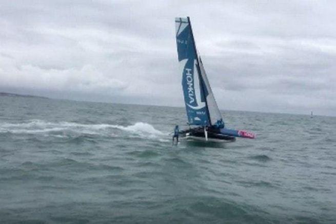 Romain Bellet en wakeboard