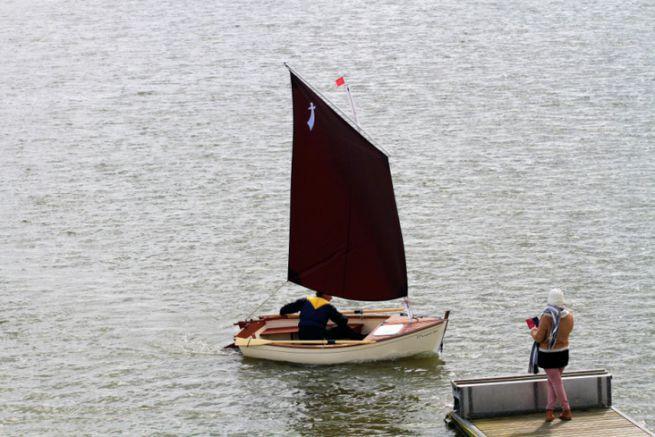 Morgat 320 : un petit canot voile aviron facile à mettre en oeuvre
