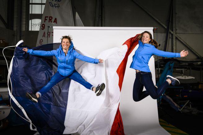 L'équipe féminine en 470 pour les JO 2020