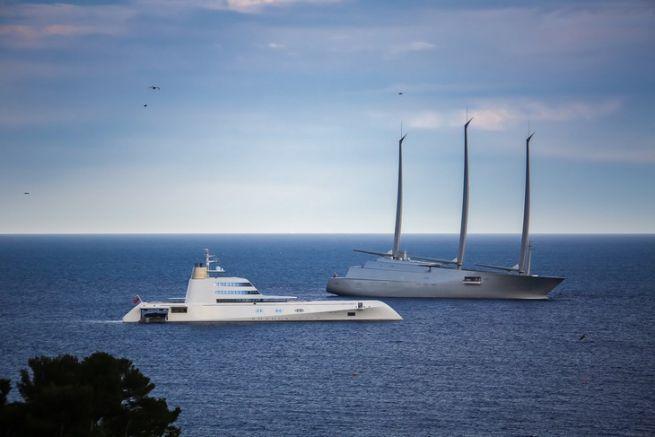Les superyachts A réunis à Monaco