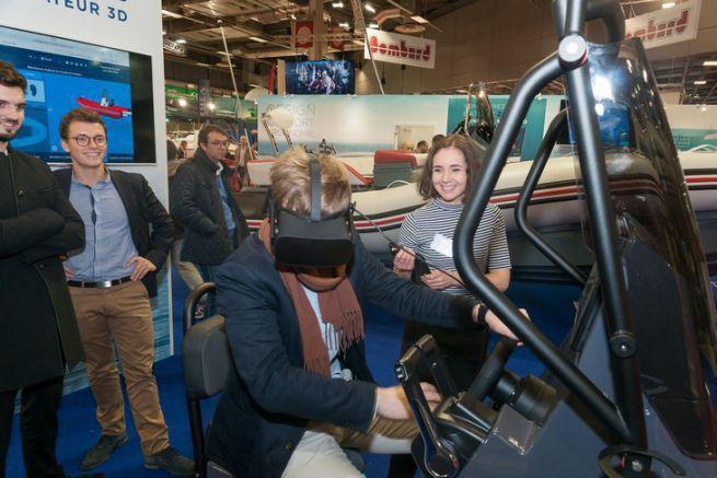 L'Oculus de Zodiac Nautic pour configurer son bateau virtuellement